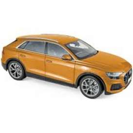 Audi  - A8  2018 orange metallic - 1:18 - Norev - 188371 - nor188371 | Toms Modelautos