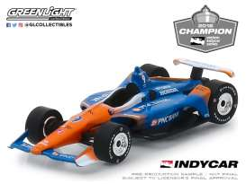 Honda  - 2018 blue/orange - 1:64 - GreenLight - 10835 - gl10835 | Tom's Modelauto's