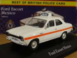 Ford  - Escort Mexico 2012 white/red - 1:43 - Magazine Models - POLFordescort - MagPOLFordescort | Tom's Modelauto's