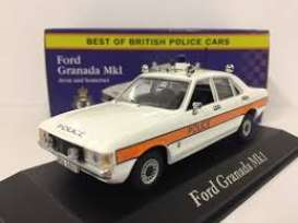 Ford  - Granada 1978 white/red - 1:43 - Magazine Models - POLFordgranada - MagPOLFordgranada | Tom's Modelauto's