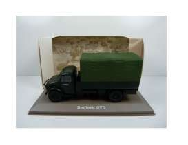 Bedford Military Vehicles - Bedford OYD 1940 green/black - 1:43 - Magazine Models - MILBL19 - magMILBL19 | Tom's Modelauto's