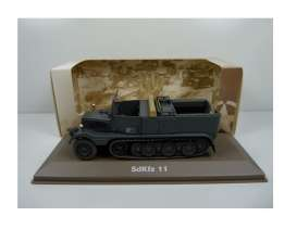 Military Vehicles  - SDKFZ 11 1940 green/black - 1:43 - Magazine Models - MILBL23 - magMILBL23 | Tom's Modelauto's