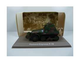 Military Vehicles  - Panhard Kegress 1940 green/black - 1:43 - Magazine Models - MILBL24 - magMILBL24 | Tom's Modelauto's