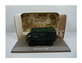Military Vehicles  - Chevrolet C8A 1940 green/black - 1:43 - Magazine Models - MILBL25 - magMILBL25 | Tom's Modelauto's