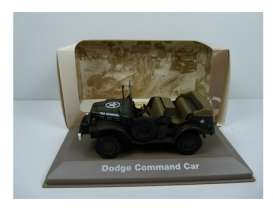 Military Vehicles  - Dodge Command Car 1940 green/sand - 1:43 - Magazine Models - MILBL28 - magMILBL28 | Tom's Modelauto's