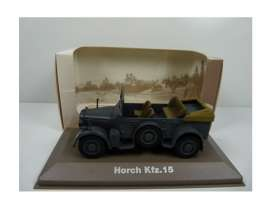 Military Vehicles  - Horch KFZ 15 1940 green/sand - 1:43 - Magazine Models - MILBL29 - magMILBL29 | Tom's Modelauto's