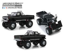 Ford  - F-250 Monster Truck 1979 black - 1:18 - GreenLight - 13538 - gl13538 | Tom's Modelauto's