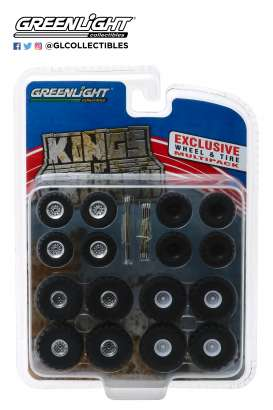 Wheels & tires Rims & tires - 2018  - 1:64 - GreenLight - 13169 - gl13169 | Tom's Modelauto's