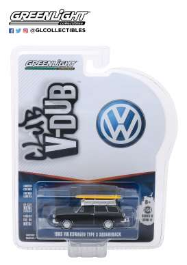 Volkswagen  - Type 3 1965  - 1:64 - GreenLight - 29940B - gl29940B | Tom's Modelauto's