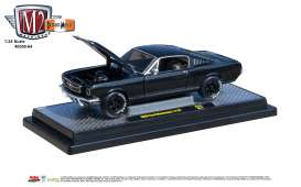 Ford  - Mustang 1966 black/grey - 1:24 - M2 Machines - 40300-64B - M2-40300-64B | Tom's Modelauto's