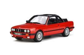BMW  - E30 Baur 1988 red - 1:18 - OttOmobile Miniatures - 767 - otto767 | Tom's Modelauto's