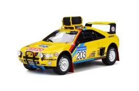 Peugeot  - 405 T16 1990 yellow/black - 1:18 - OttOmobile Miniatures - 532 - otto532 | Tom's Modelauto's
