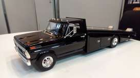 Ford  - F-350 Ramp Truck 1970 black - 1:18 - Acme Diecast - 1801400 - acme1801400 | Tom's Modelauto's