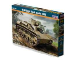 Military Vehicles  - T-60 Light Tank  - 1:35 - Mister Craft - E02 - misterE02 | Tom's Modelauto's