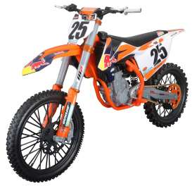 KTM  - 450 SX-F orange/blue/white - 1:6 - Maisto - 32227o - mai32227o | Tom's Modelauto's