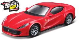 Ferrari  - 812 Superfast red - 1:43 - Bburago - 36121 - bura36121 | Tom's Modelauto's