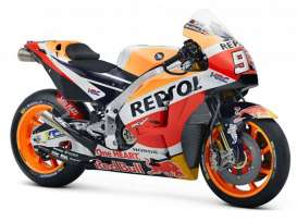 Honda  - RC213V orange/red/black - 1:18 - Maisto - 31595M - mai31595M | Tom's Modelauto's