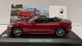 Maserati  - dark red - 1:43 - Magazine Models - MAS04 - magMAS04 | Tom's Modelauto's