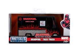 Deadpool  - Taco Food Truck 2017 black/red - 1:32 - Jada Toys - 30864 - jada30864 | Tom's Modelauto's