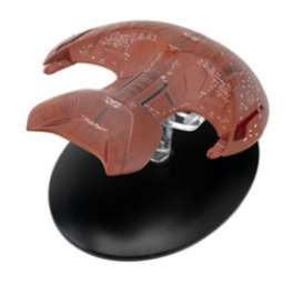 Star Trek  - red-brown - Magazine Models - Startrek016 - magStartrek016 | Toms Modelautos