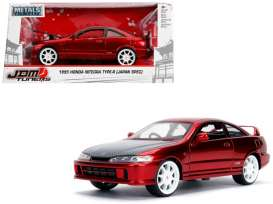 Honda  - Integra Type R 1995 candy red - 1:24 - Jada Toys - 30932 - jada30932r | Tom's Modelauto's