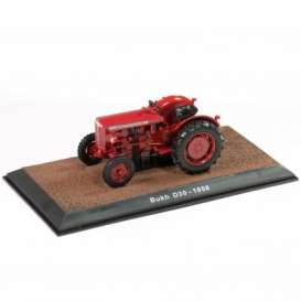 Tractor  - Bukh D30 1958 red - 1:32 - Magazine Models - TR2517023 - magTR2517023 | Toms Modelautos