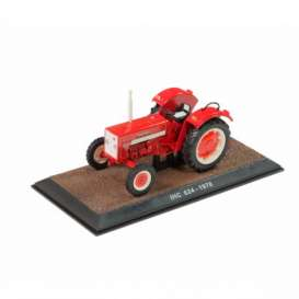 Tractor  - IHC 624 1970 red - 1:32 - Magazine Models - TR7517028 - magTR7517028 | Toms Modelautos