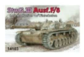 Military Vehicles  - StuG.III Ausf.F/8  - 1:144 - Dragon - 14103 - dra14103 | Tom's Modelauto's
