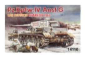 Military Vehicles  - Pz.IV Ausf.G  - 1:144 - Dragon - 14110 - dra14110 | Toms Modelautos