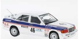 Mercedes Benz  - 1986  white/blue - 1:43 - IXO Models - GTM126 - ixGTM126 | Tom's Modelauto's