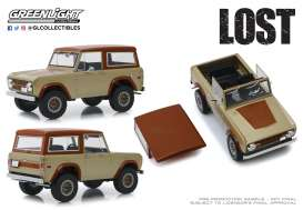 Ford  - Bronco 1970 brown - 1:18 - GreenLight - 19057 - gl19057 | Tom's Modelauto's