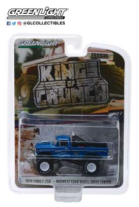 Ford  - F-250 Monster Truck 1974  - 1:64 - GreenLight - 49030A - gl49030A | Tom's Modelauto's