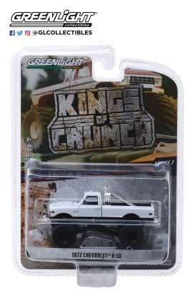 Chevrolet  - K-10 white - 1:64 - GreenLight - 49030C - gl49030C | Tom's Modelauto's