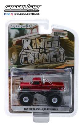 Ford  - F-250 1979 red - 1:64 - GreenLight - 49030E - gl49030E | Tom's Modelauto's