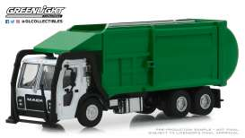 Mack  - LR Refuse 2019 green - 1:64 - GreenLight - 45060C - gl45060C | Tom's Modelauto's