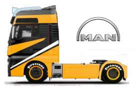 MAN  - black/yellow - 1:64 - Maisto - 12389-18830bk - mai12389-18830bk | Toms Modelautos
