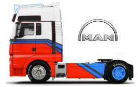 MAN  - white/red/blue - 1:64 - Maisto - 12389-18830w - mai12389-18830w | Toms Modelautos