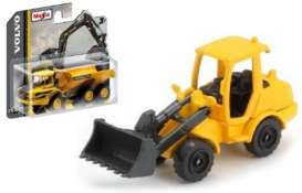 Volvo  - L250H Wheel Loader black/yellow - 1:64 - Maisto - 15394-03 - mai15394-03 | Tom's Modelauto's