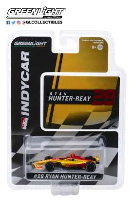 Honda  - 2019 yellow/red - 1:64 - GreenLight - 10841 - gl10841 | Tom's Modelauto's