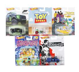 Assortment/ Mix  - various - 1:64 - Hotwheels - DMC55 956P - hwmvDMC55-956P | Toms Modelautos