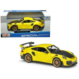 Porsche  - 911 GT2 RS yellow/black - 1:24 - Maisto - 31523 - mai31523 | Tom's Modelauto's