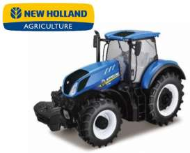 New Holland  - T7.315 blue - 1:50 - Bburago - 31612 - bura31612 | Tom's Modelauto's
