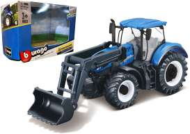 New Holland  - T7.315 blue - 1:32 - Bburago - 31632 - bura31632 | Tom's Modelauto's