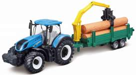 New Holland  - T7.315 blue - 1:32 - Bburago - 31655 - bura31655 | Tom's Modelauto's