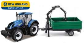 New Holland  - T7.315 blue - 1:32 - Bburago - 36157 - bura36157 | Tom's Modelauto's