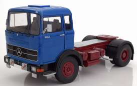Mercedes Benz  - LPS 1632 1969 blue/red - 1:18 - Road Kings - 180022 - rk180022 | Tom's Modelauto's