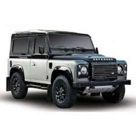 Land Rover  - Defender 2015 black/grey - 1:43 - Almost Real - ALM410203 - ALM410203 | Tom's Modelauto's