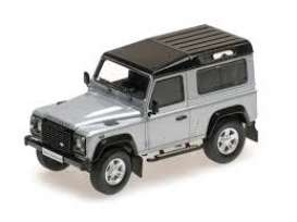 Land Rover  - Defender 2014 silver - 1:43 - Almost Real - ALM410207 - ALM410207 | Tom's Modelauto's