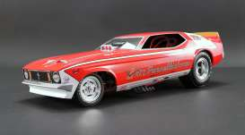 Ford  - Mustang Dragster red/gold - 1:18 - Acme Diecast - 1800700 - acme1800700 | Tom's Modelauto's