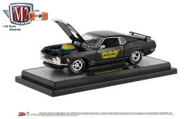Ford  - Mustang 1970 black/gold - 1:24 - M2 Machines - 40300-65B - M2-40300-65B | Tom's Modelauto's